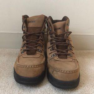 Men's Potomac Wolverine steel toed work boots